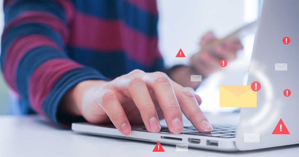 Email Notifications Cybersecurity in business