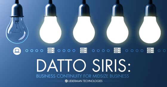 DATTO SIRIS-SMEs BCDR
